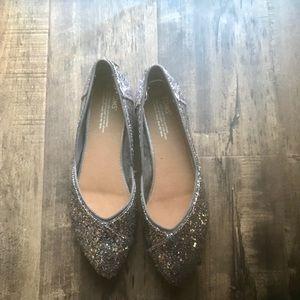 Toms Glitter Party Womens Jutti Flats